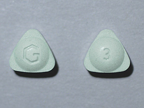 Alprazolam Intensol Oral ALPRAZOLAM XR 3 MG TABLET