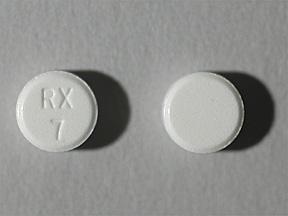 Ativan Oral LORAZEPAM 0.5 MG pill