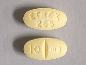 BUSPIRONE HCL 10 MG TABLET