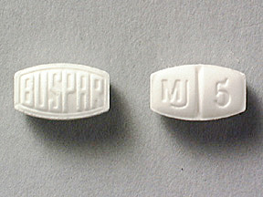 Buspirone Oral BUSPAR 10 MG TABLET