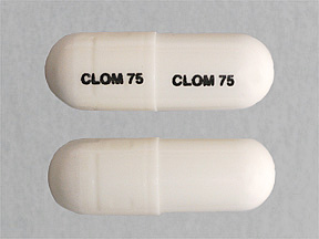 Clomipramine Oral  75 MG CAPSULE