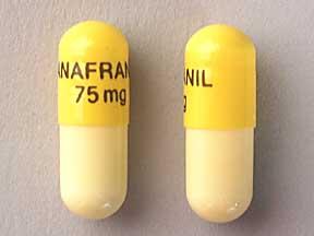 Clomipramine Oral ANAFRANIL 75 MG CAPSULE