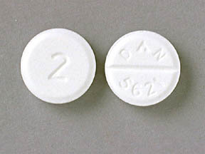 Diazepam Intensol 2 MG TABLET