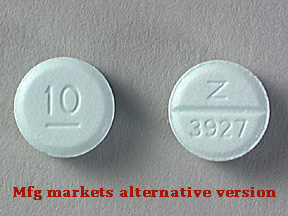 Diazepam Intensol Oral DIAZEPAM 10 MG TABLET