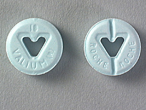 Diazepam Intensol Oral VALIUM 10 MG TABLET