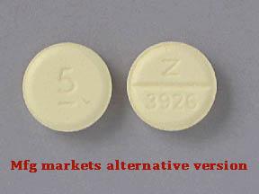 Diazepam Oral DIAZEPAM 5 MG