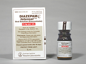 Diazepam Oral DIAZEPAM 5 MG_ML ORAL CONC