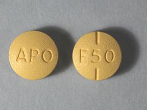 Fluvoxamine Oral FLUVOXAMINE 50 mg tab