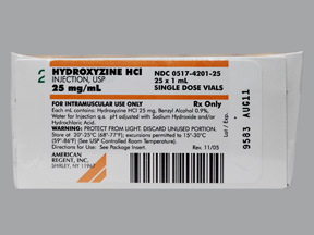 How Much Is A Hydroxyzine