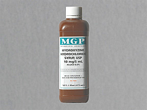 Hydroxyzine HCl Oral HYDROXYZINE 10 MG syrup