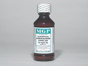 Hydroxyzine HCl Oral HYDROXYZINE SYRUP