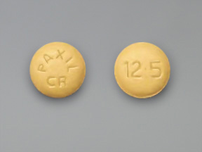 Paroxetine HCl Oral PAXIL CR 12.5 MG TABLET