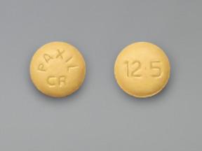 Paxil CR Oral PAXIL CR 12.5 MG TABLET