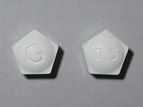 Xanax Oral 0.5 MG TABLET