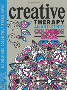 Creative Therapy An Anti-Stress Coloring Book